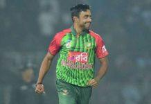 বাংলাদেশ জাতীয় ক্রিকেট দলের বোলার আবু জাহেদ রাহি