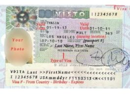 Italy re-entry visa process begins