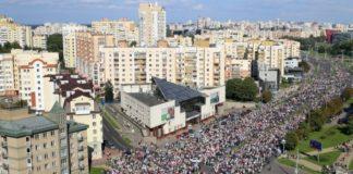 Massive Protests erupt in Belarus